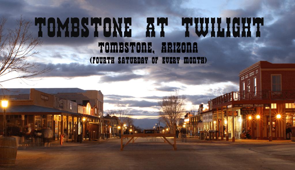 Tombstone at Twilight